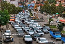 آخرین وضعیت راهها/ ترافیک نیمه سنگین در اکثر محورهای شمالی