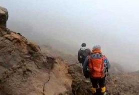 کوهنوردان مفقود در قله ریزان لواسانات پیدا شدند