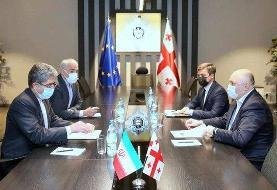 بررسی تسهیل در امور سرمایه گذاران در دیدار سفیر ایران و رئیس سرویس امنیت کشور گرجستان