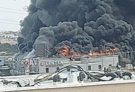 آتش سوزی پست برق در بندرعباس:  برق بندرعباس و جزیره هرمز دچار قطعی شده است
