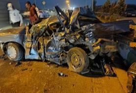 ۲ کشته در تصادف هولناک بزرگراه آبشناسان