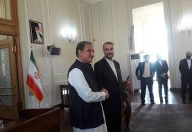 رایزنی وزیران امور خارجه ایران و  پاکستان در تهران
