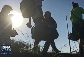 ویدئو / بیخبری از ۱۳ پناهجوی ایرانی در مرز بلاروس و لیتوانی