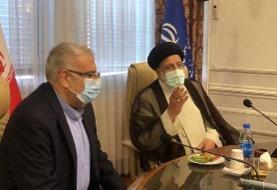 بازدید سرزده رییسجمهور از وزارت نفت