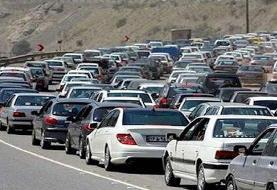 ترافیک سنگین در راههای منتهی به تهران/ جادههای شمال قفل شد