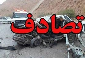 ۵ فوتی در حادثه واژگونی خودرو