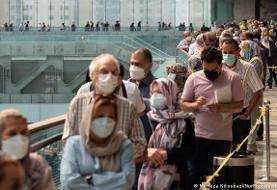 تلفات کرونا در ایران روند کاهشی طی میکند