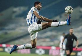 عکس   هتریک طارمی در گرفتن جایزه بهترین مهاجم ماه لیگ پرتغال