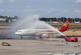 شرکت یونایتد پروازهای بوئینگ۷۷۷ را به دلیل نقص در موتور متوقف میکند