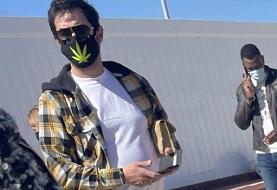 شفافسازی شهاب حسینی درباره تزریق واکسن کرونا در آمریکا و ماسک جنجالی