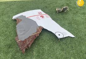 (تصاویر) سقوط موتور هواپیمای مسافربری در منزل مسکونی!
