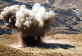 یک مجروح بر اثر انفجار مین در سومار