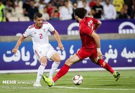 بازی تدارکاتی تیم ملی فوتبال ایران و سوریه روز ۱۰ فروردین
