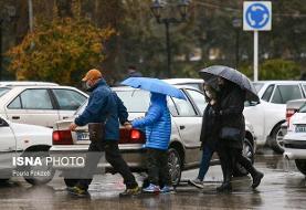 ورود دو سامانه بارشی به کشور/بارش برف و باران در بیشتر مناطق