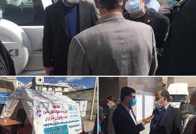 بازدید مدیر عامل بیمه دی از منطقه زلزلهزده سیسخت