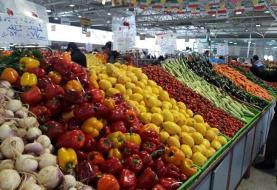 قیمت انواع میوه و سبزی