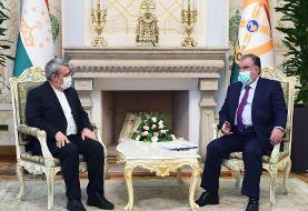دیدار وزیر کشور با رئیس جمهور تاجیکستان