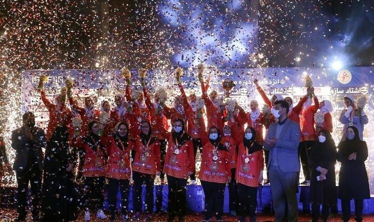 (تصاویر) فینال لیگ برتر هندبال بانوان