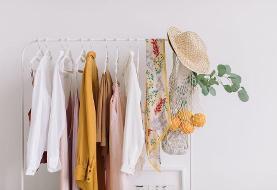 تصاویر | لباسهای خود را با این روش همیشه مرتب و دردسترس نگه دارید