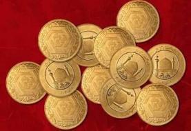 بالا و پایین شدن قیمت سکه درکانال ۱۱ میلیون تومانی