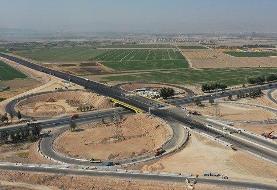 آزادراه غدیر با دستور رئیس جمهوری افتتاح شد   کاهش بار ترافیکی شلوغترین مسیر ارتباطی ایران