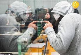 (تصاویر) محاکمه سرکرده داعش در آلمان