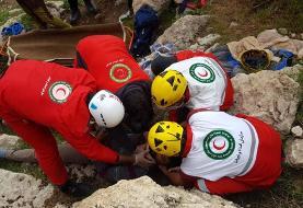 نجات سه صخره نورد در ارتفاعات دشتستان