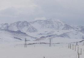 رانش زمین، کولاک و برف گردنه تازار را مسدود کرد
