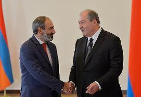 نخست وزیر ارمنستان خواستار کنارهگیری رئیس ستاد کل ارتش شد