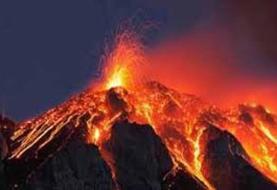 فوران مجدد آتشفشان اِتنا در ایتالیا