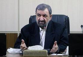 انتقاد محسن رضایی به روحانی: ما مسئولان باید از شرمندگی خجالت بکشیم