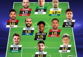 عکس | تیم منتخب ماه فوتبال پرتغال با حضور طارمی