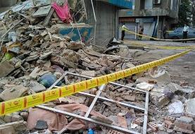 مرگ مرد میانسال بر اثر ریزش ساختمان متروکه در کرمانشاه