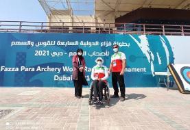 نایب قهرمانی زهرا نعمتی در رقابتهای بین المللی امارات