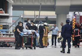 حریق مرگبار بر اثر انفجار پودر سیب زمینی در غرب سنگاپور