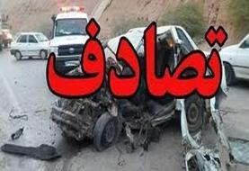 ۳ کشته و زخمی در یک تصادف در محور نهبندان
