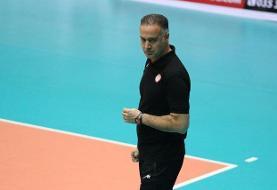 پیمان اکبری: عملکرد خوبی نداشتیم/ تلاش خواهیم کرد که برنده بازی سوم باشیم