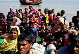 نجات قایق حامل پناهجویان روهینگیا در آبهای هند