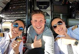 نخستین پرواز مسافرتی توسط خلبانان زن در افغانستان خبرساز شد