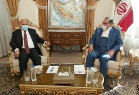 دیدار وزیر خارجه عراق با شمخانی
