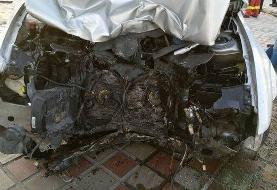 راننده خوابآلود سمند، دو عابر را در پیادهرو کشت