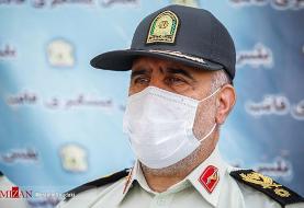 پیام تسلیت رییس پلیس پایتخت در پی درگذشت ستوان دوم جواد رضایی در یک حادثه رانندگی