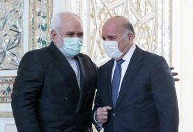 مقامهای ایرانی در دیدار با وزیر خارجه عراق حمله آمریکا را محکوم کردند
