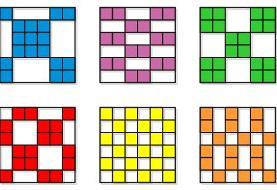تست هوش | کدام سه مربع جاهای خالی را پر میکنند؟