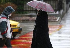 هشدار هواشناسی نسبت به بارش باران در نقاط مختلف کشور