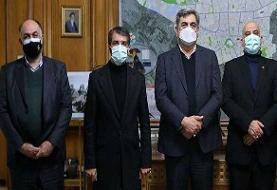 دیدار صمیمانه حناچی با مدیران سرخابی/ وعده شهردار به سمیعی