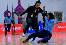 (عکس) برخورد خشن بازیکنان زن ایرانی در کویت