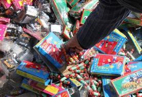 کشف ۶۹۹ هزار عدد انواع مواد محترقه و نخ سیگار