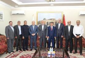 دیدار سفیر ایران در قطر با «اسماعیل هنیه»