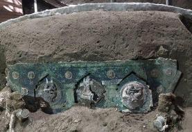 عکس | درشکه تشریفاتی دو هزار ساله در حومه شهر سوخته پمپئی کشف شد